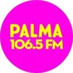 Logo da emissora Radio Palma 106.5 FM