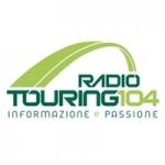 Logo da emissora Touring 104.1 FM