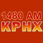 Logo da emissora KPHX 1480 AM