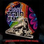 Logo da emissora Rádio Soul Train FM
