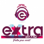 Logo da emissora Rádio Extra 107.7 FM