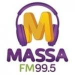 Logo da emissora Rádio Massa 99.5 FM