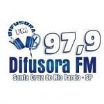 Logo da emissora Rádio Difusora 97.9 FM