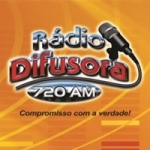 Logo da emissora Rádio Difusora 720 AM