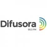 Logo da emissora Rádio Difusora 1440 AM