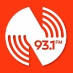 Logo da emissora Rádio Nova 93.1 FM