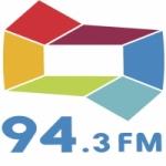 Logo da emissora Rádio Difusora 94.3 FM