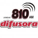 Logo da emissora Rádio Difusora de Jundiaí 810 AM