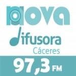 Logo da emissora Rádio Nova Difusora 97.3 FM