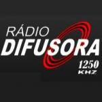 Logo da emissora Rádio Difusora 1250 AM