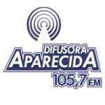 Logo da emissora Rádio Difusora Aparecida 105.7 FM