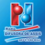 Logo da emissora Rádio Difusora de Assis 1140 AM