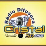 Logo da emissora Rádio Difusora Cristal 1450 AM