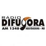Logo da emissora Rádio Difusora 1340 AM