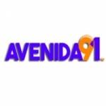 Logo da emissora Rádio Avenida 91 FM