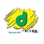 Logo da emissora Rádio Difusora Vale do Acaraú 1100 AM