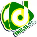 Logo da emissora Rádio Difusora 92.5 FM