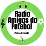 Logo da emissora Radio Amigos do Futebol