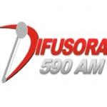 Logo da emissora Rádio Difusora 590 AM