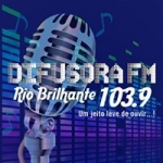 Logo da emissora Rádio Difusora 103.9 FM