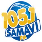 Logo da emissora Rádio Samavi 105.1 FM