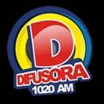Logo da emissora Rádio Difusora 1020 AM