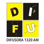 Logo da emissora Rádio Difusora 1320 AM