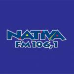 Logo da emissora Rádio Nativa 106.1 FM