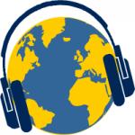 Logo da emissora Rádio Dimensão 105.1 FM