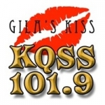 Logo da emissora KQSS GILA 101.9 FM