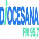 Logo da emissora Rádio Diocesana 95.7 FM
