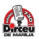 Logo da emissora Rádio Dirceu 730 AM