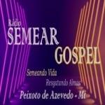 Logo da emissora Rádio Semear Gospel