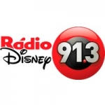Logo da emissora Rádio Disney 91.3 FM