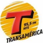 Logo da emissora Rádio Transamérica Hits 95.5 FM