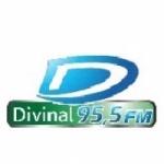 Logo da emissora Rádio Divinal 95.5 FM