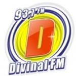 Logo da emissora Rádio Divinal 93.7 FM
