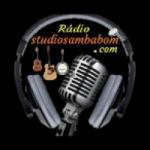 Logo da emissora Rádio Studio Samba Bom