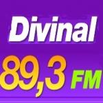 Logo da emissora Rádio Divinal 89.3 FM