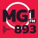 Logo da emissora Rádio MG1 FM 89.3