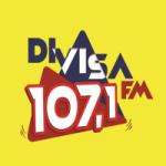 Logo da emissora Rádio Divisa 107.1 FM