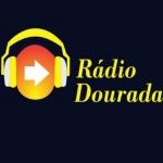 Logo da emissora Rádio Dourada 87.9 FM