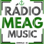 Logo da emissora Rádio Meag Music FM