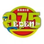 Logo da emissora Rádio Eden 97.5 FM