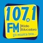 Logo da emissora Rádio Educadora 107.1 FM