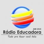 Logo da emissora Rádio Educadora 1010 AM