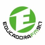 Logo da emissora Rádio Educadora 91.7 FM