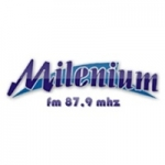 Logo da emissora Rádio Milenium 87.9 FM