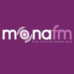 Logo da emissora Mona 99.8 FM
