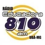 Logo da emissora Rádio Educadora 810 AM